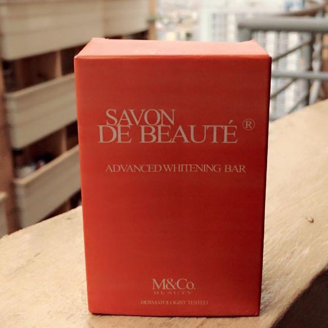 Savon De Beaute Advanced Whitening Bar