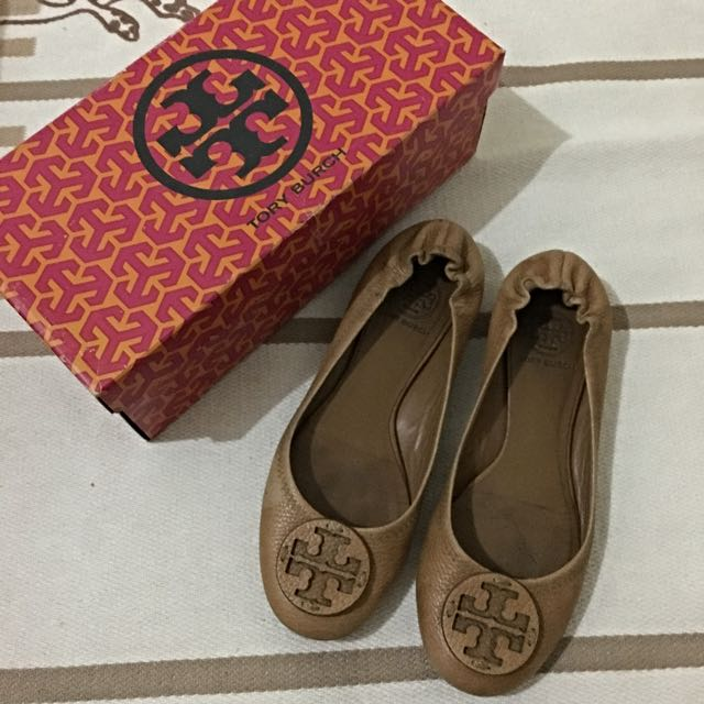 Tory Burch Reva - Tan Size 8