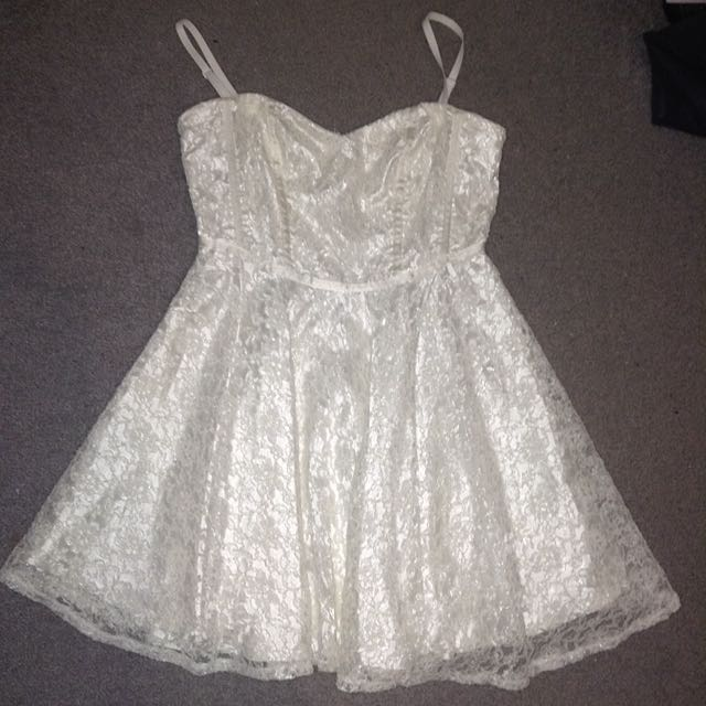 White Lacy Dress