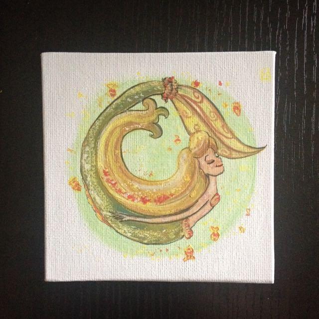 Yellow Mermaid