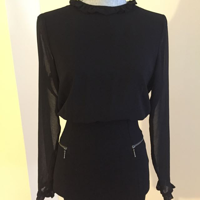 Zara Black Dress