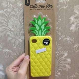 Pineapple Yellow Case Iphone 4/4s