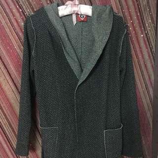 Galoop 姊妹牌 浴袍式外套-全新