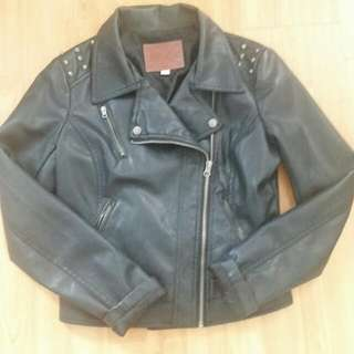 Miss London Faux leather Jacket