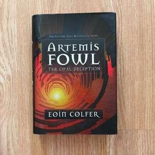 Artemis Fowl: The Opal Deception, Written By: Eoin Colfer
