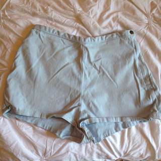 "American Apparel High waisted ""tap"" Shorts"