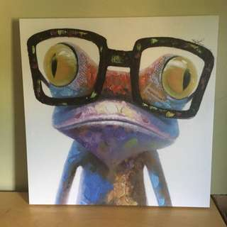 Frog Painting