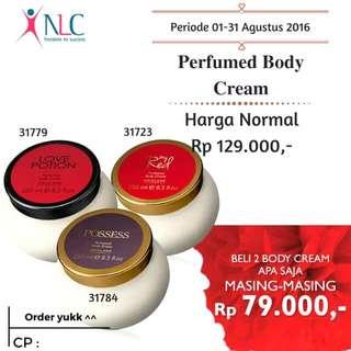 Perfumed Body Cream Oriflame Bulan Agustus Promo Beli 1 Cuma 99rb, Beli 2 Lebih Hemat Dengan Masing-masing Cuma 79rb