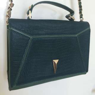 Party Green Handbag