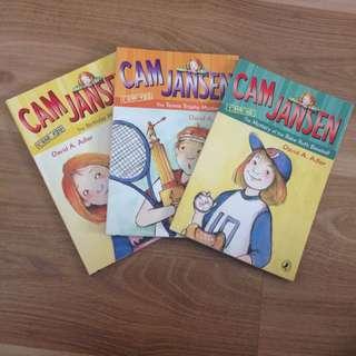 Cam Jensen Books (3)