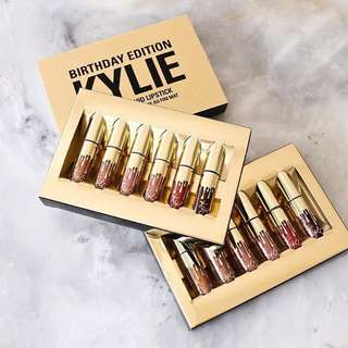 Kylie Mini Mattes Birthday Edition (Reserved)