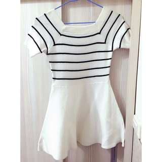 🎀白色連身裙