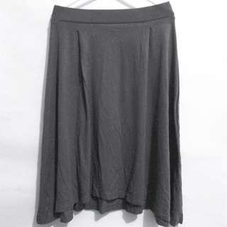 Midi Skirt Dark Grey