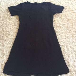 Mini Dress Black Mangos