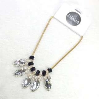 Droplets Leaf Necklace GG-14