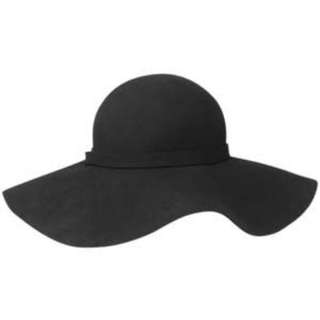 Black Floppy Hat