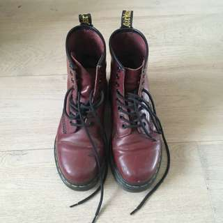 Dr Martens 1460 Cherry Red Boot