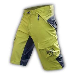 Seven7 Design Dirty Dirt Lime Green MTB Short
