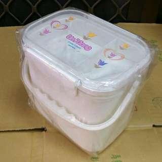 方型手提飯盒/便當盒