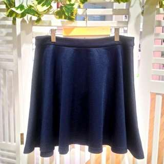 Ally Navy Blue Skirt