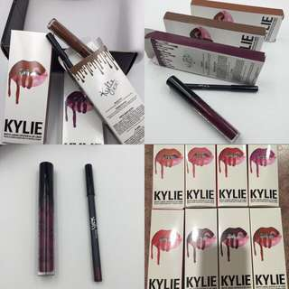 $65 For All 9 KYLIE LIPKITS (PENCIL/LIPSTICK)