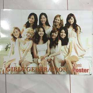 Girls' Generation 10cut Posters