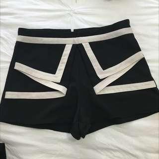 High waisted Dress Shorts