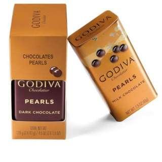 GODIVA 巧克力豆(3盒裝)