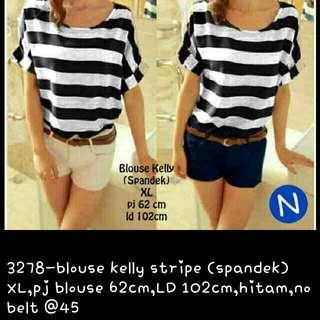 KELLY stripe blouse