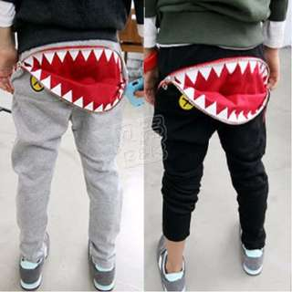 Korea Style Kids Boy Girl Jaw Hiphop Long Pant 1368