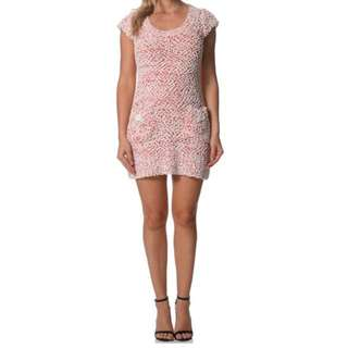 Autograph Knit Pink/Red/White Tunic Dress