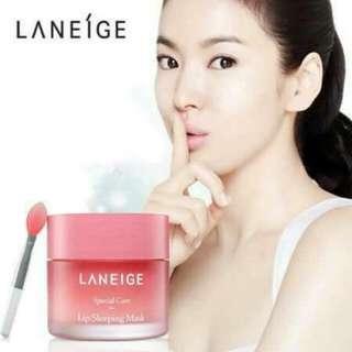 韓國Laneige蘭芝睡美人極萃滋養晚安唇膜
