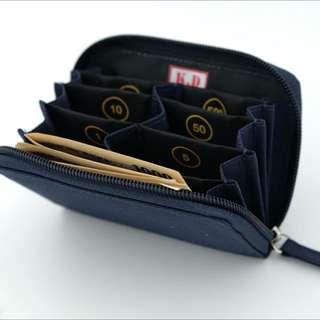 KD coin case日幣零錢包/韓幣,好貼心分格/也可放紙鈔信用卡