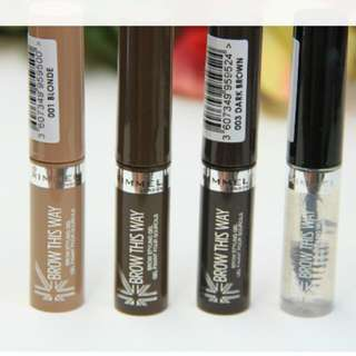 RIMMEL BROW THIS WAY BROW GEL