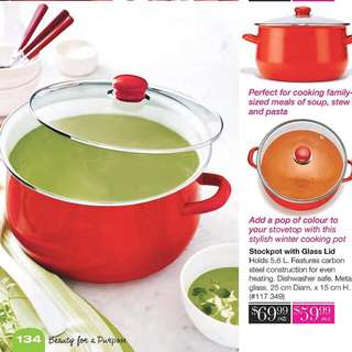 Stock Pot With Glass Lid
