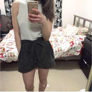Playful Khaki Shorts