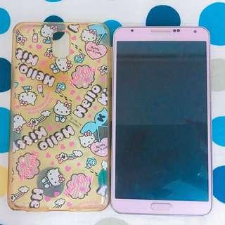 三星 Samsung Galaxy note3 粉色 16g 簡配