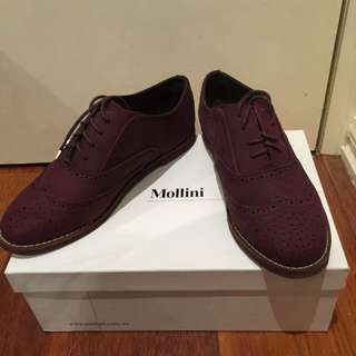 Mollini Maroon Shoes