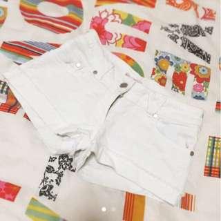 White Shorts *Live Love Play*