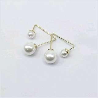 Pearl /gold Ear Stud