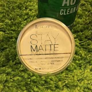 Rimmel Stay Matte Piwder(Transparent)