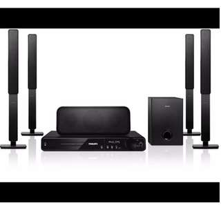 Philips HTS 3373/98 1000W Home theatre system <Speakers only>