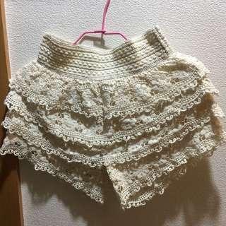 Forever 21蛋糕裙短褲