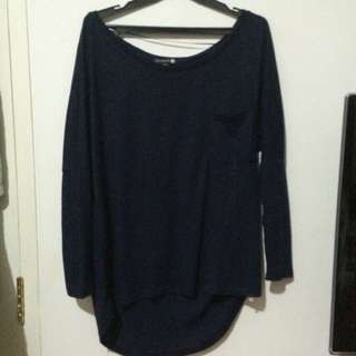 Cotton On Navy Long Sleeve