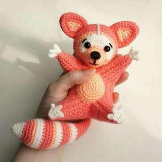Crochet Home Made Raccon