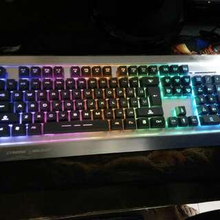 🚚 呼吸燈鍵盤