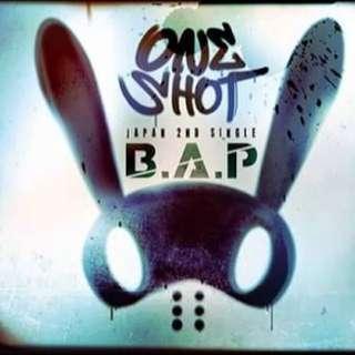 B.A.P: One Shot (Japanese vers.) - no Photocard & calendar