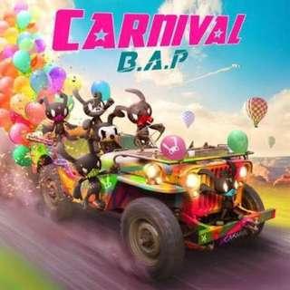 B.A.P: Carnival - No Photocard