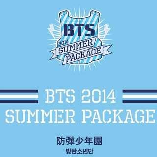 BTS: Summer package 2014