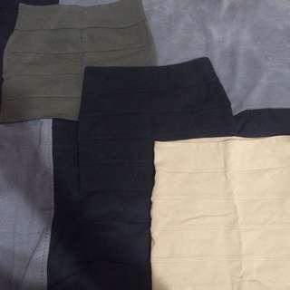 Size S Mini Skirts.